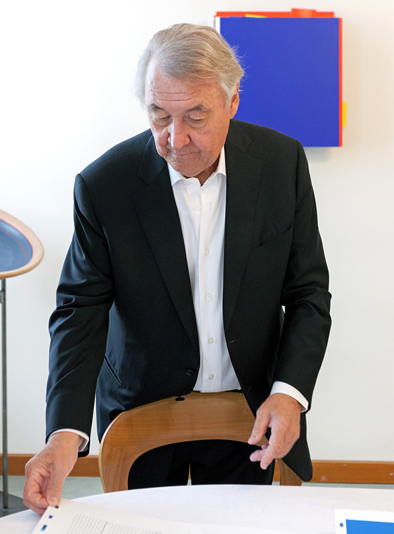 06 Franz Wojda, art collector, Vienna