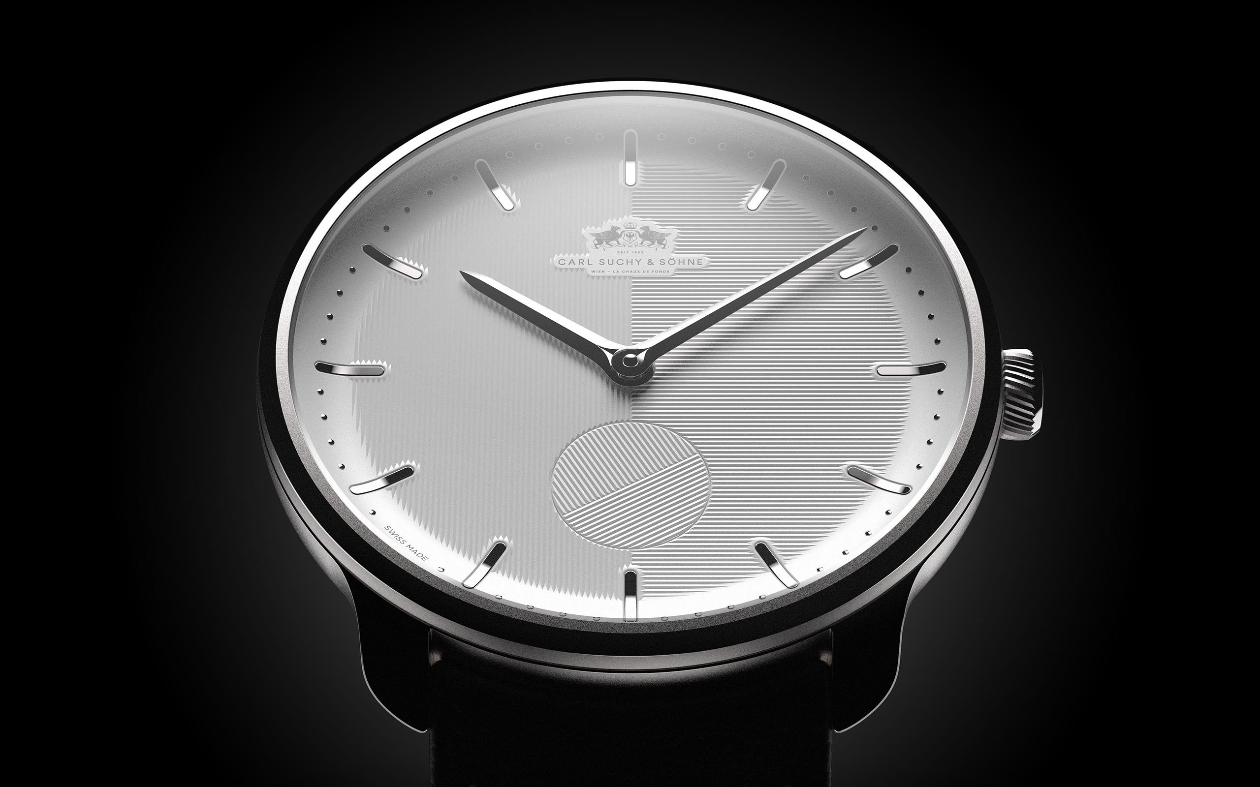 15B Waltz N°1, new watch design for Carl Suchy, Vienna, by Milos Ristin