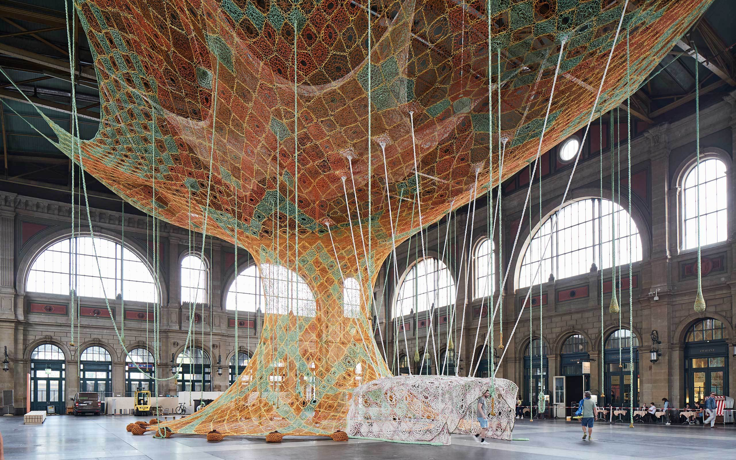 02 Gaia Mother Tree Ernesto Neto